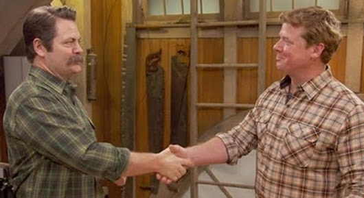 Nick Offerman Offers Some Well-Spoken Woodworking Advice - Digg