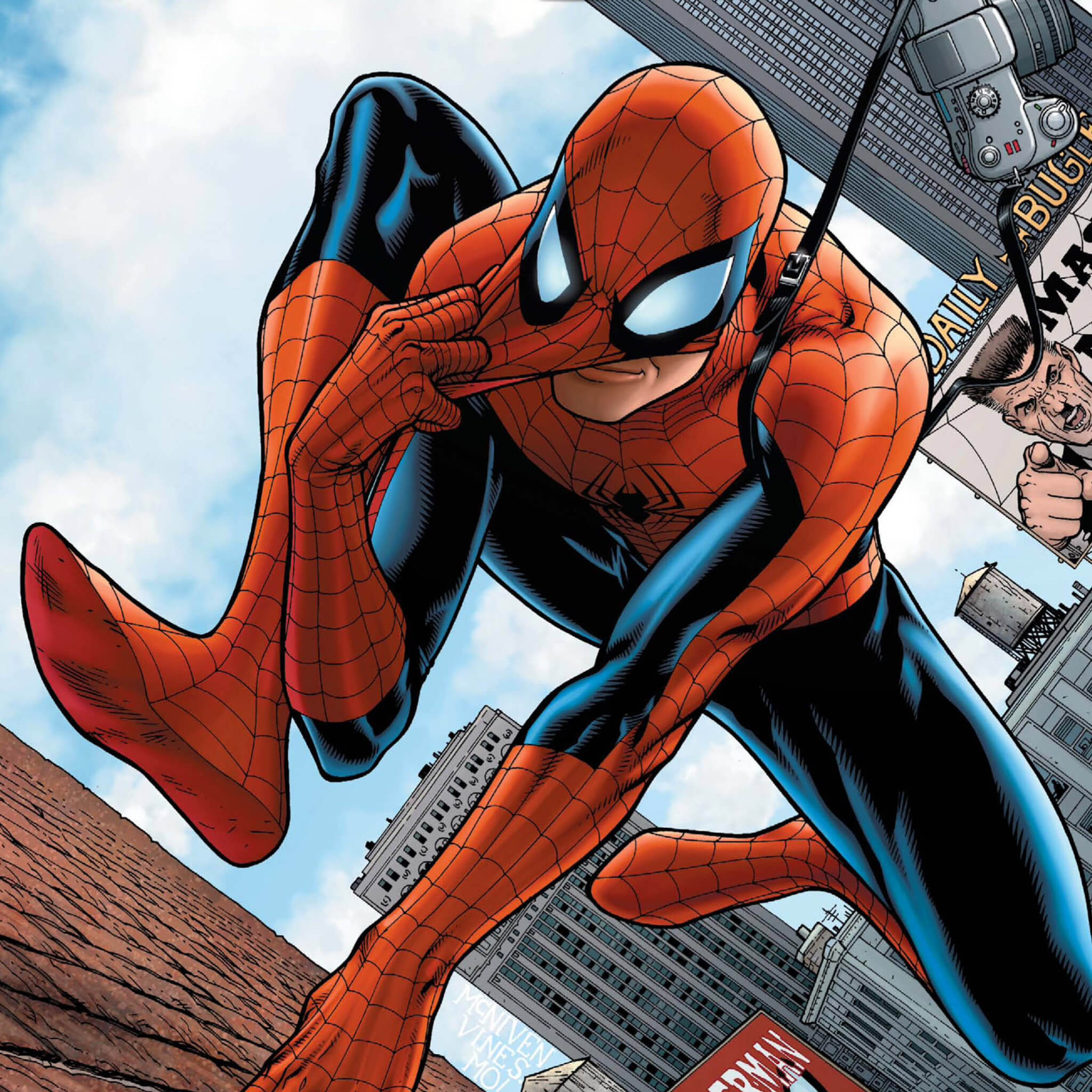Thwip Through Our Collection Of Amazing Spider Man Ios Wallpapers