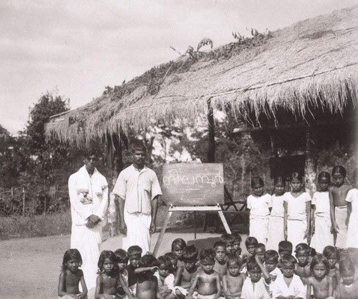 File:ബുഷ് വിദ്യാലയം. നിലമ്പൂർ, മലപ്പുറം. ഏകദേശം 1930.jpg