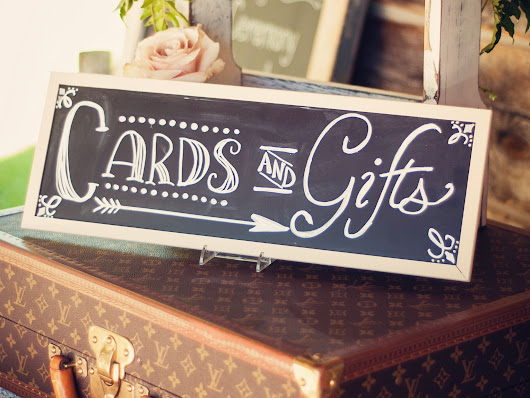 5 Rules of Wedding Gift Giving