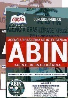 Apostila Concurso ABIN 2018 | AGENTE DE INTELIGÊNCIA