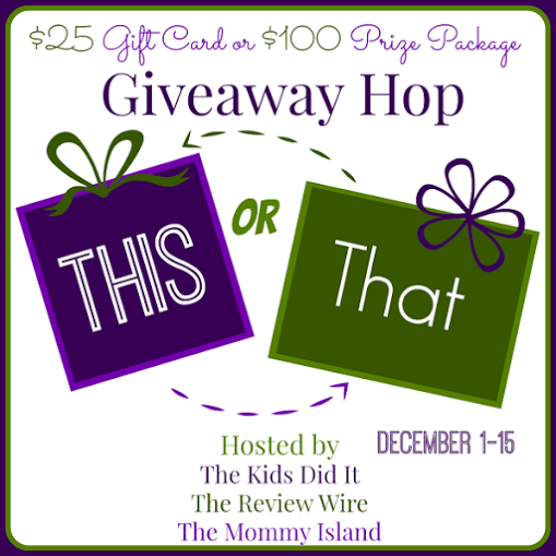 This or That Giveaway Hop: $25 Visa Gift Card - Health, Wealth and Travel