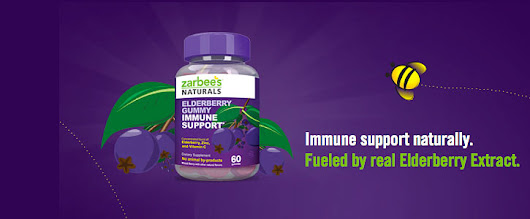 Free Sample: Zarbees Elderberry Gummy - Immune Support for Adult or Kids | Freebie Spot