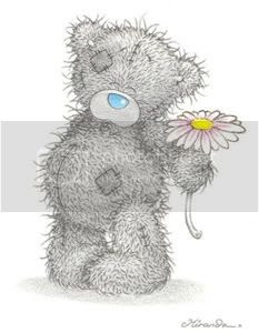Tatty Teddy daisy