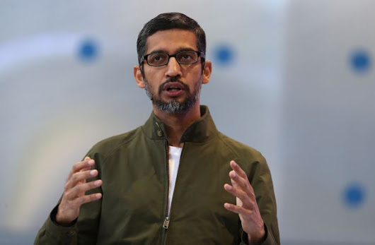 Google CEO Sundar Pichai will reportedly meet with Republican lawmakers this week