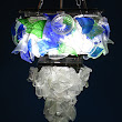 Eco1stArt: Summer Rain Chandelier