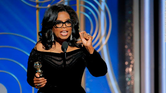 Oprah Winfrey's Globes speech: full transcript - CNN