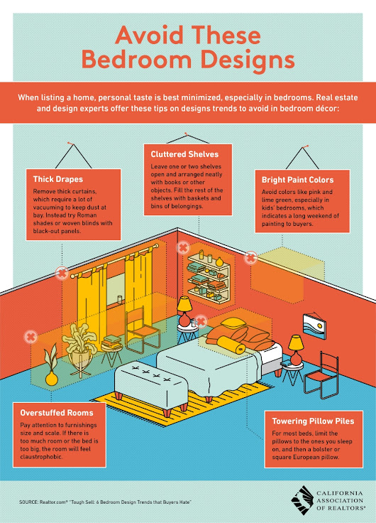 Avoid These Bedroom Designs [Infographic]