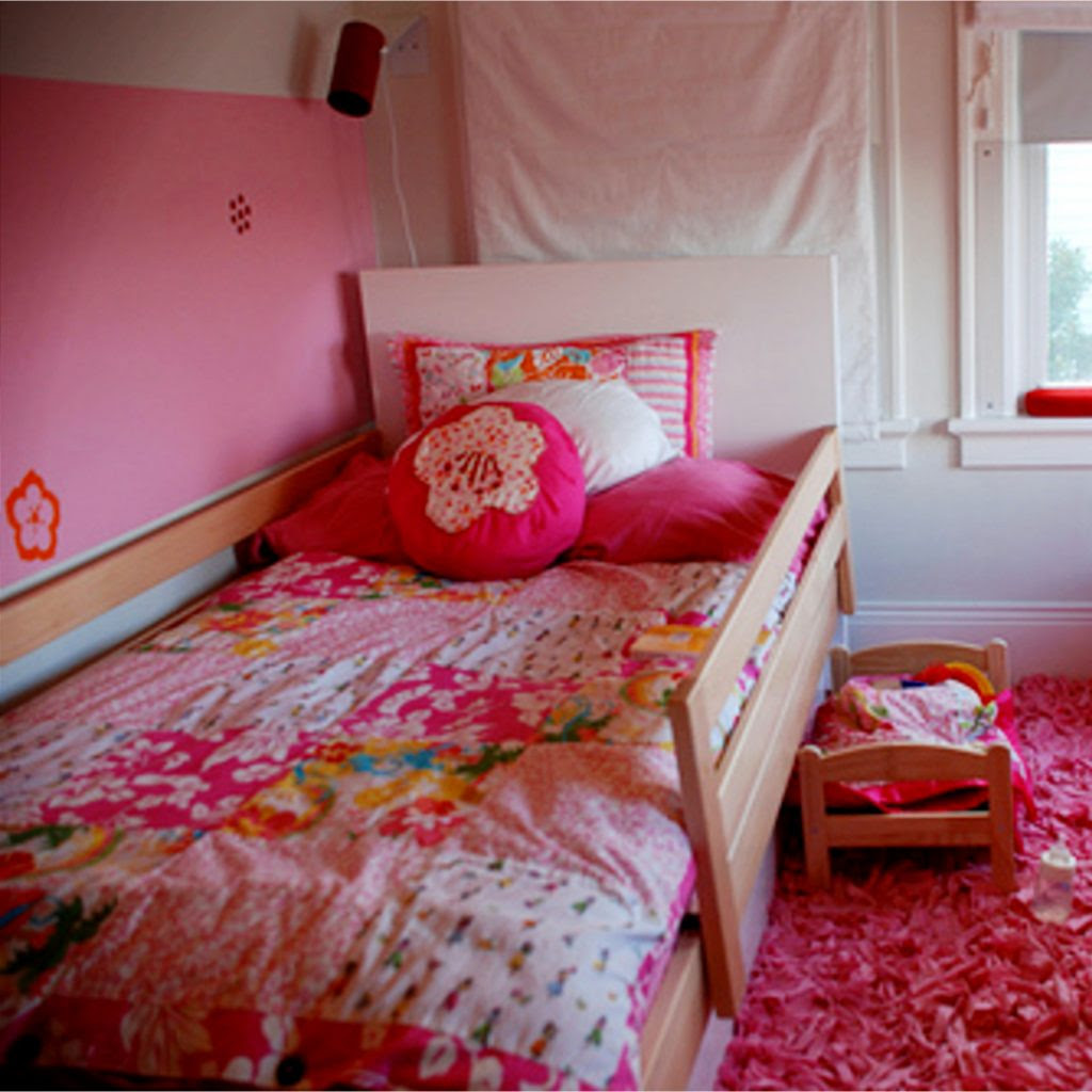 Little Girl's Bedroom Decorating Ideas and Adorable Girly ...