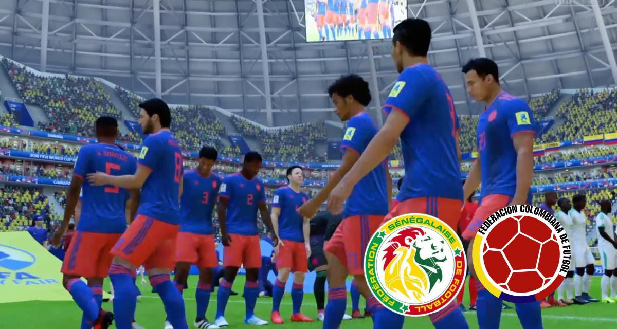 Coupe Du Monde Sénégal Colombie Notre Simulation Sur