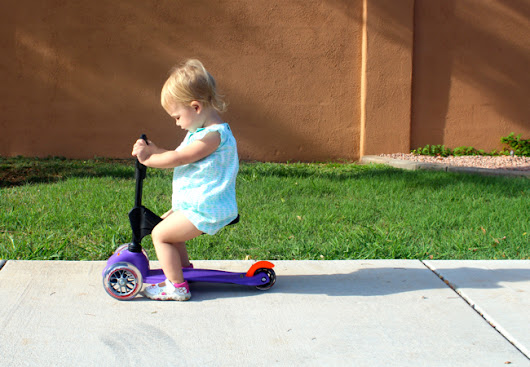 Giveaway! Mini Micro 3-in-1: A Scooter That Grows With Your Child - The Happiest Home