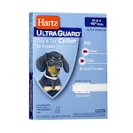 Hartz Ultraguard Flea And Tick White Collar For Dogs, 15 Inches Necks - 15 Ea