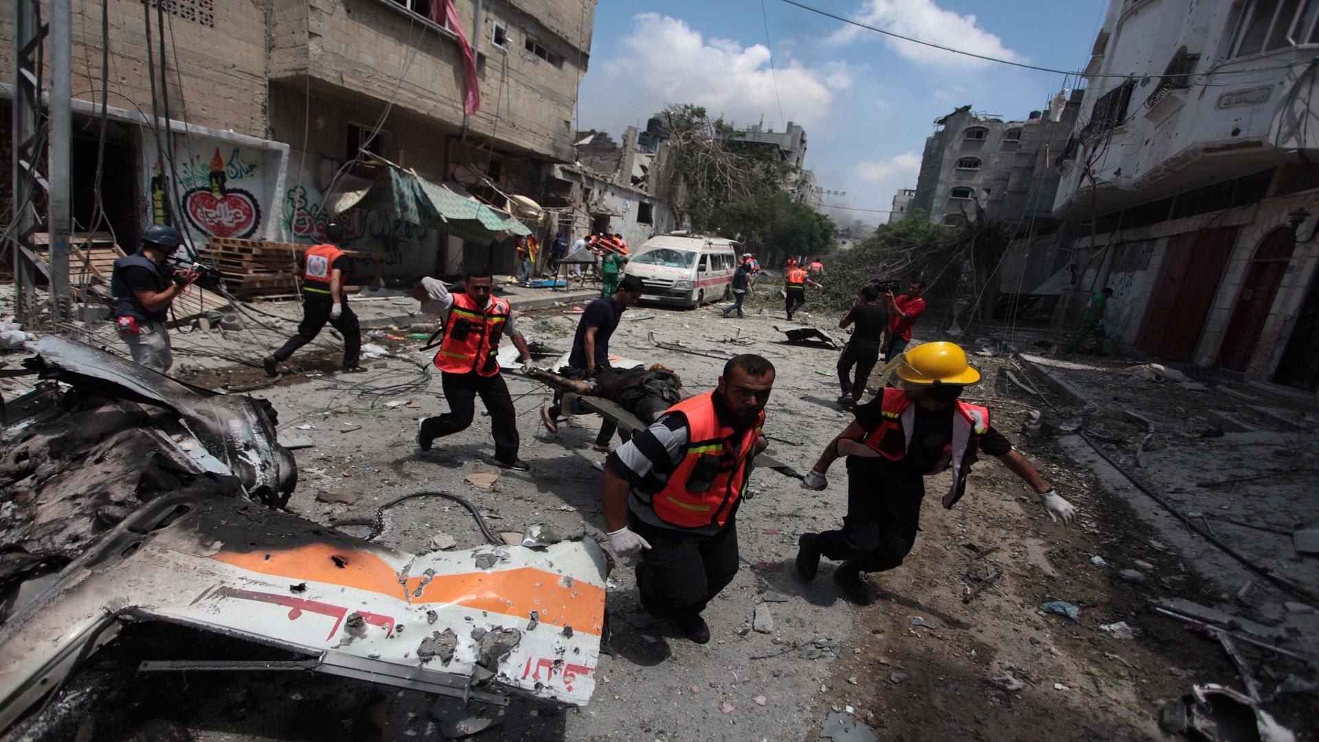 war crimes gaza