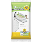Purina Tidy Cats Breeze Cat Pads Refill Pack, 7.52 oz., Count of 4, 4 CT