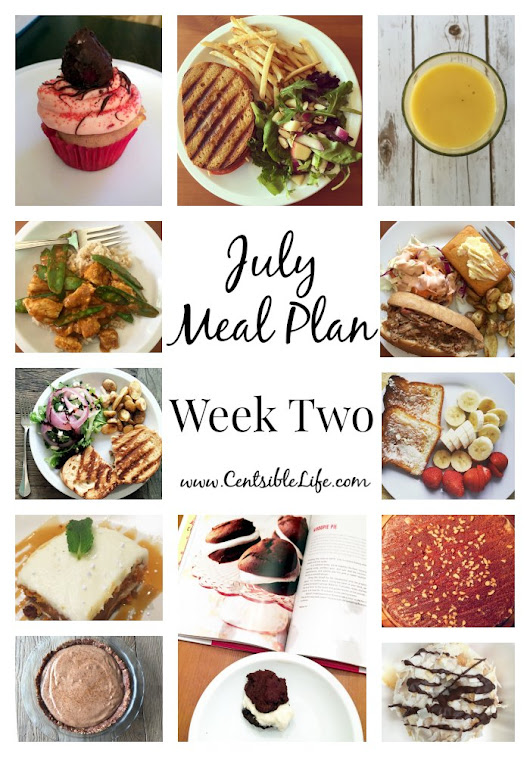July Meal Plan: Week Two - Centsible Life