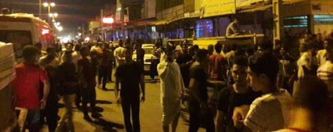 Mass Demonstrations In Ahvaz, On The Eve Of Ninth Day Of Protests Against Iran Regime