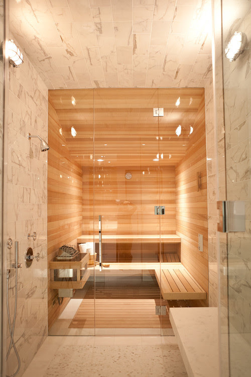 10 Homes With Saunas That Will Instantly Relax You (