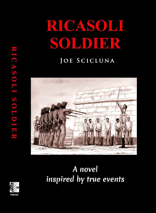 Ricasoli Soldier now available worldwide on Kindle