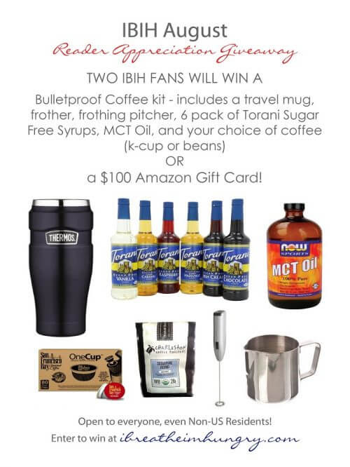 August Bulletproof Coffee Bundle Giveaway