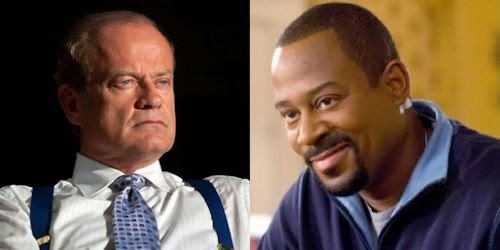 Kelsey Grammer and Martin Lawrence