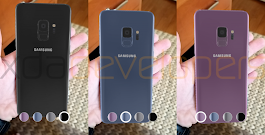 "Samsung Galaxy S9 appears in 3D models leaked from its ""Unpacked 2018"" app"