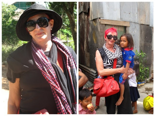 A Cambodian Fashion Statement - Boomer Women Travelers