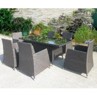 China rattan hotel garden table and chair mimosa outdoor ...