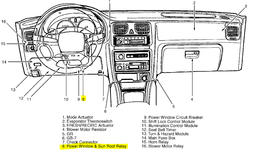 98 Subaru Forester Wiring Diagram - Wiring Diagram Networks