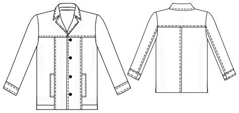 leather jacket sewing pattern    measure