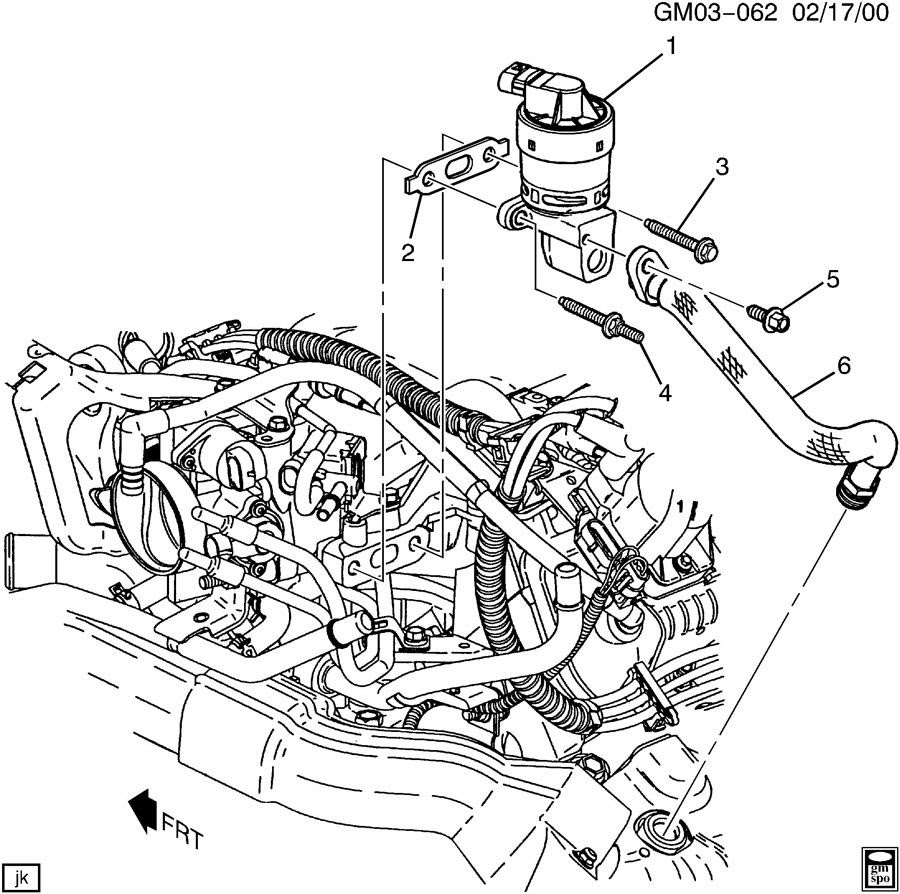 2004 Chevrolet Venture Engine Diagram