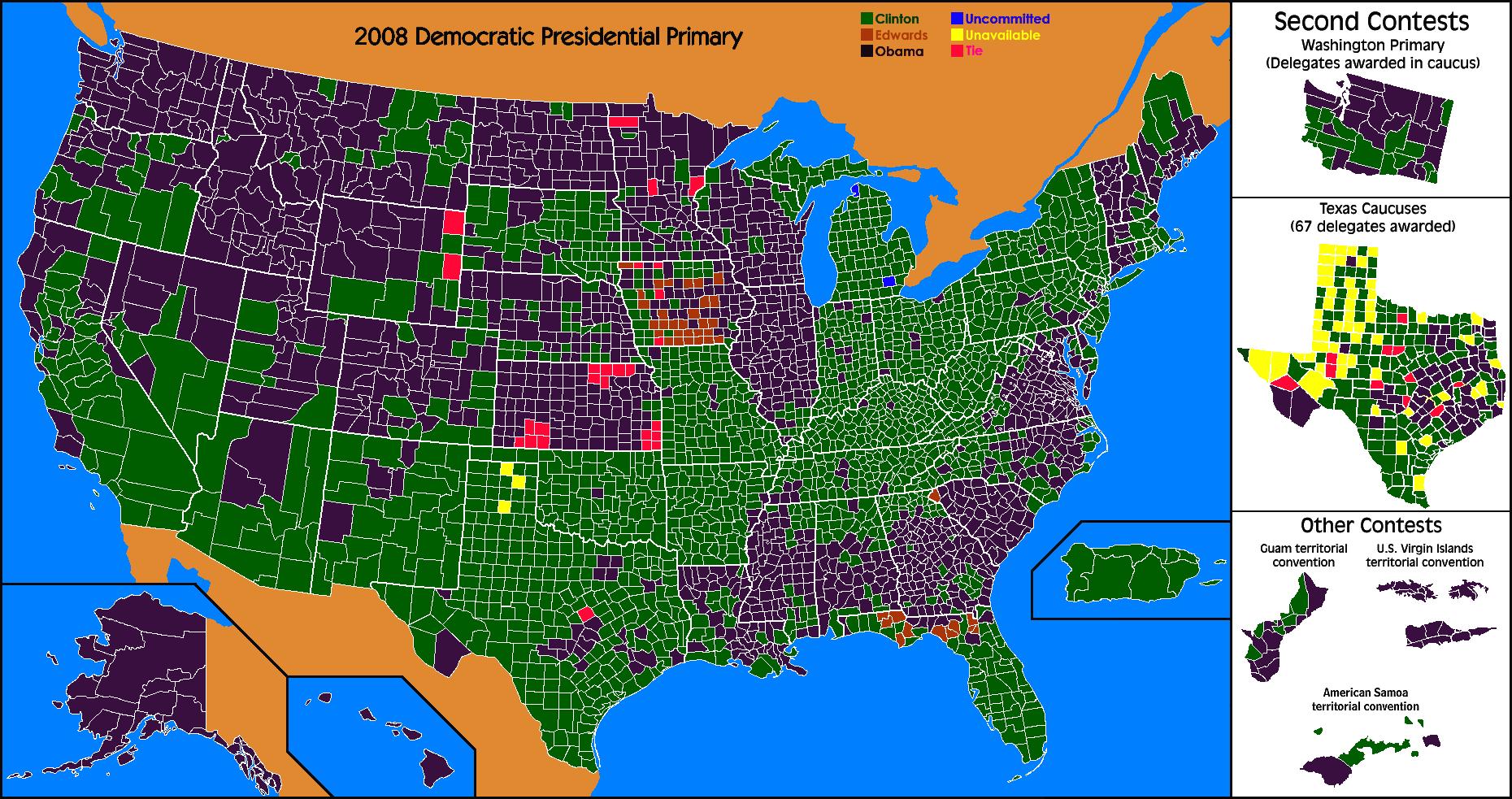 2008 Democratic primary