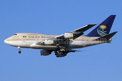 Saudi Arabian Airlines Boeing 747SP-68 HZ-AIF (msn 22503) DXB (Paul Denton). Image: 911391.