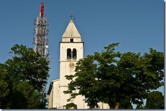 12 Tinjan - stolp in cerkev
