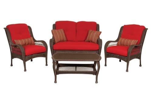 Patio Sets Clearance: Bella Vista 4 Piece Seating Patio ...