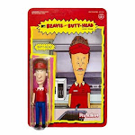 Super7 Beavis and Butt-head - Burger World Butt-Head ReAction Figure