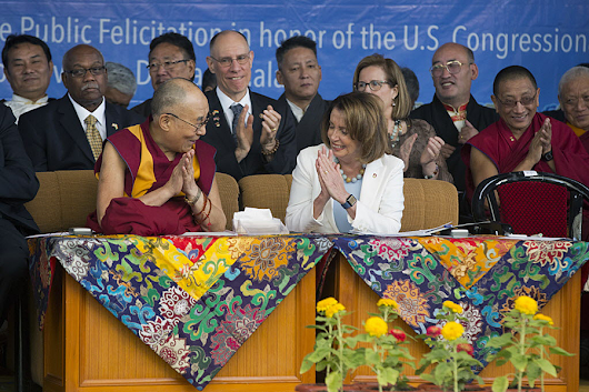 Why Pelosi and other Democratic lawmakers met with the Dalai Lama in India