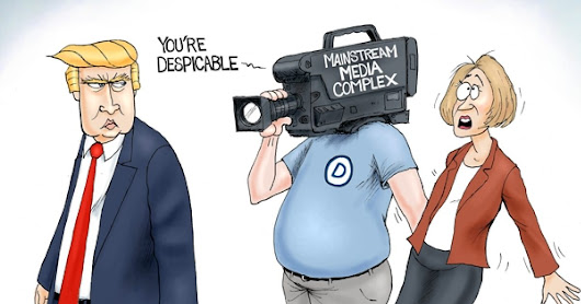 A.F. Branco Cartoon - Headline Grabber