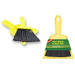 Travel Whisk Broom with Dust Pan by Coghlan's