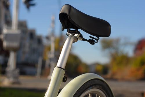 Paper Bicycle, Saddle