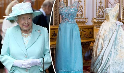Queen's desses to go on show at Buckingham Palace   Royal