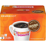 Dunkin' Donuts Original Blend K-Cup Coffee Pods, 72 ct.