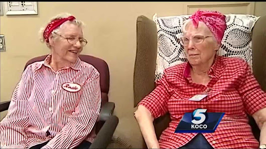Oklahoma women honored for being real-life 'Rosie the Riveter'