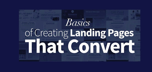 7 Steps to Create High-Converting Email Marketing Landing Pages [Infographic]