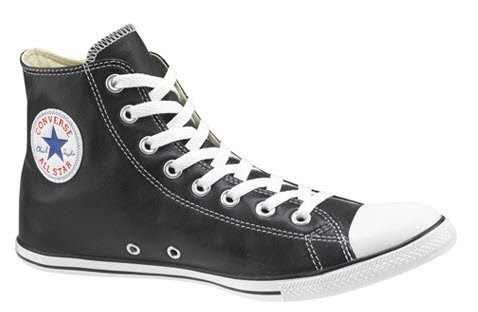 converse high tops leather
