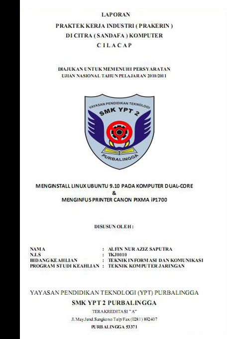 Contoh Proposal Ojt Wall Ppx