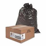 Genuine Joe 60 Gallon Brown Garbage Bags, 38x58, 0.8mil, 100 Bags (GJO02152)