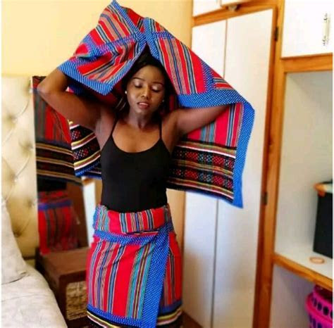Nice Way To Combine Your Venda Traditional Attire