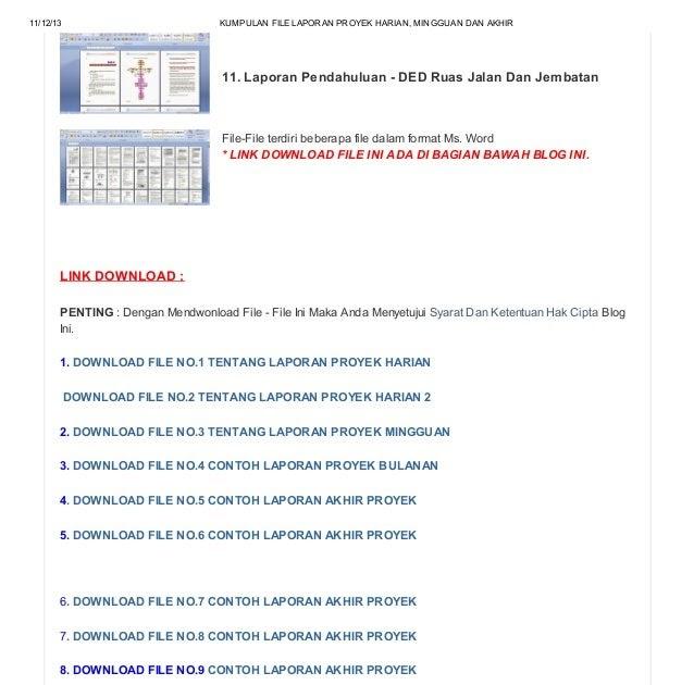 Contoh Format Laporan Kas Harian Contoh 0108