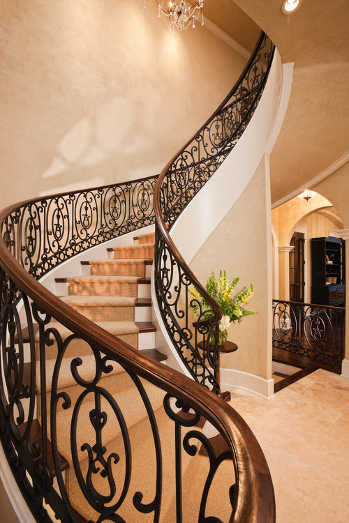 Stair traditional staircase