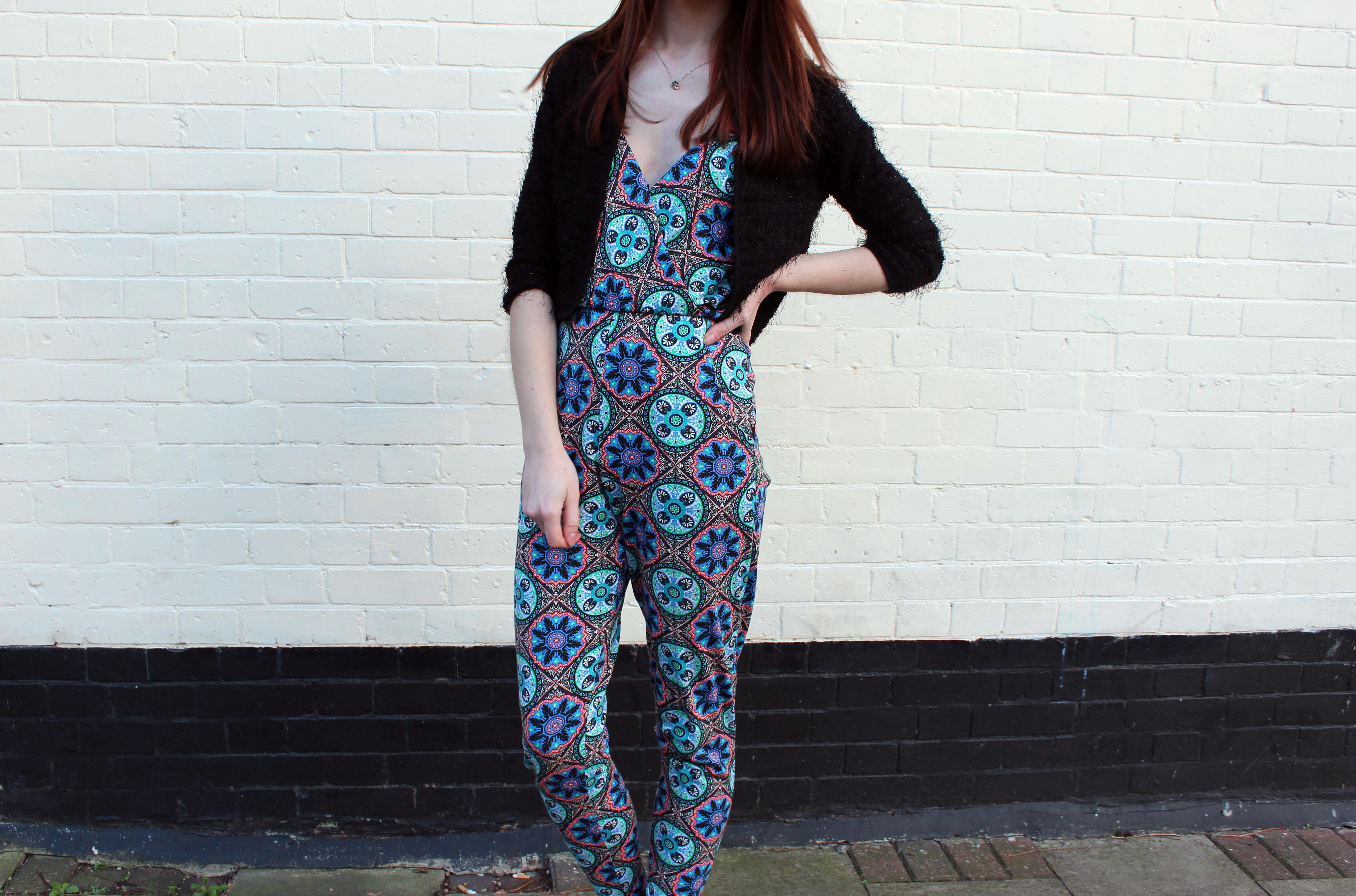 Missguided Mandala printed jumpsuit